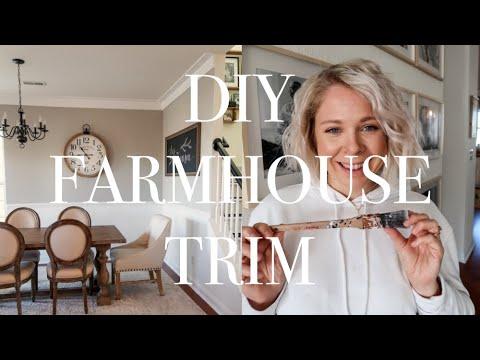 Diy Farmhouse Trim Alternative To