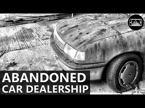 Abandoned Car Dealership - Smartphone Photography