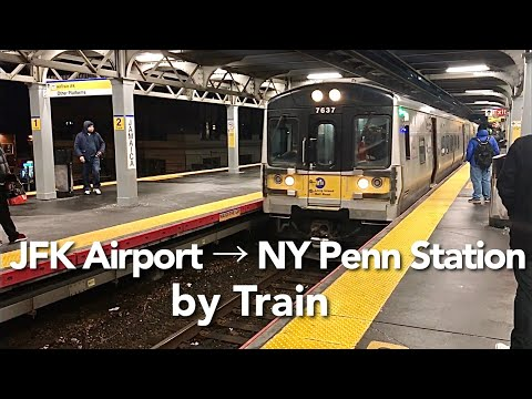 [ USA Train ] JFK AirTrain And Long Island Rail Road (LIRR)