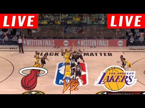 Download [LIVE] Los Angeles Lakers vs Miami Heat Full Game 6 | NBA Finals Oct 11, 2020