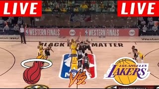 [LIVE] Los Angeles Lakers vs Miami Heat Full Game 6 | NBA Finals Oct 11, 2020