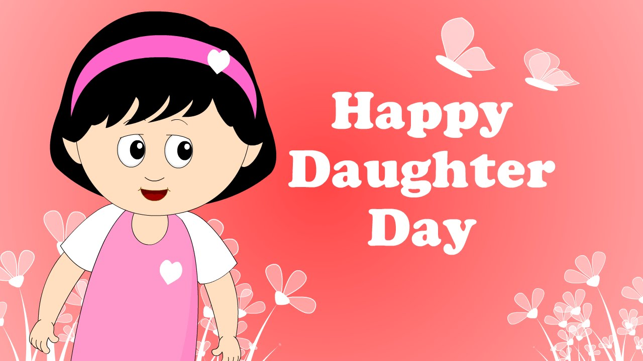 Happy Daughters Day An Emotional Day Animated Greeting Daddys
