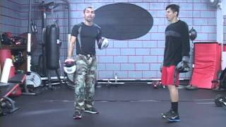 Boxing Drills for Economy of Motion 2/2, Reflexes, Timing, Fluidity of Strikes, Art of K.O. Method