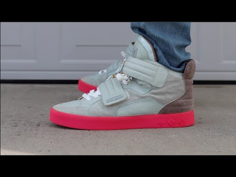 12b78be71cf Louis Vuitton x Kanye West Jaspers W On Foot Review - YouTube