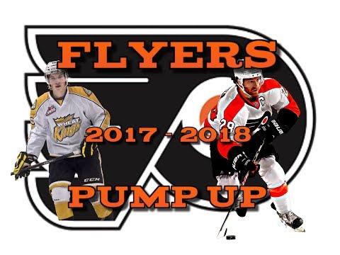 "NHL Philadelphia Flyers 2017 - 2018 Pump Up ""Rise"""