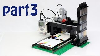 The LEGO Printer Project - Part 3