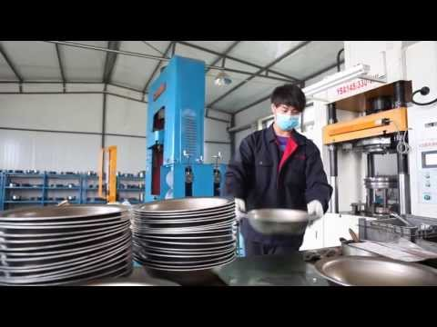 Tri-ply Stainless steel Cookware Factory Introduction-SanHe