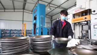 Tri-ply Stainless steel Cookware Factory Introduction-SanHe Kitchen