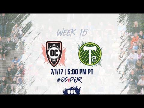 USL LIVE - Orange County SC vs Portland Timbers 2 7/1/17