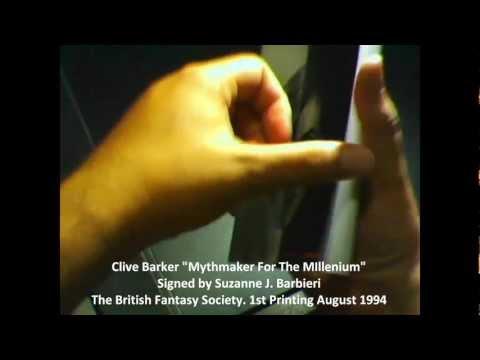 Clive Barker: Mythmaker for the Milenium [BOOK]