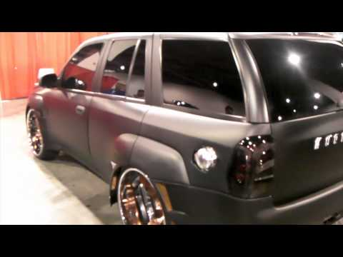 2006 Chevy Trailblazer Review 24 Inch Staggered 3PC Wheels Asanti Forgiato DUBSandTIRES online
