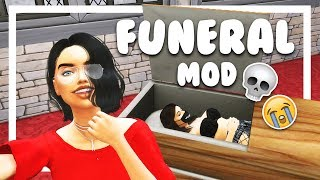 Hey, boo! The Funeral Mod for The Sims 4 was updated for Seasons vi...