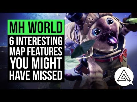Monster Hunter World | 6 Interesting Map Features You Might Have Missed