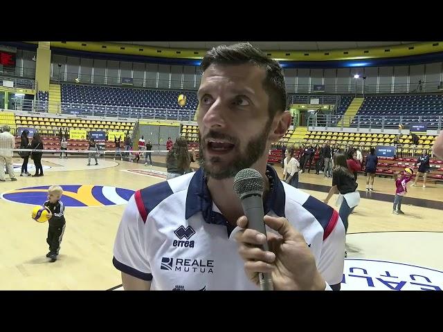 Interviste post-partita Chieri vs VakifBank