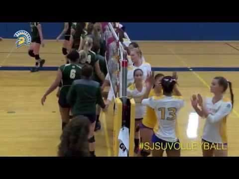 San Jose State Volleyball Highlights from Wyoming & #21 Colorado State