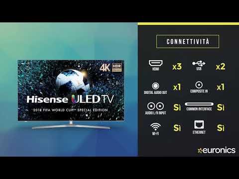 Hisense | Smart TV LED 4K UHD HDR | H55A6570