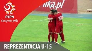 U-15: Bramki z meczu Polska - Białoruś 4:1