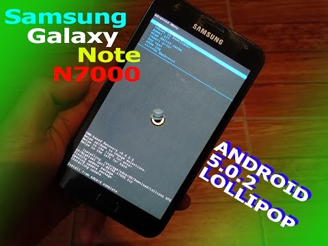 SAMSUNG Galaxy Note GT-N7000 | How To Install Android Nougat 7 0