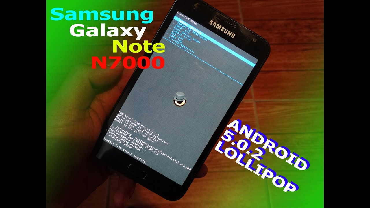 [ROM] Galaxy Note N7000 Android 5 0 2 Lollipop