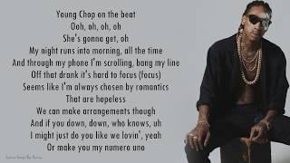 Wiz Khalifa ft. Swae Lee - Hopeless Romantic | Lyrics Songs