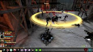 Dragon Age 2 Destiny   combat walkthrough - trailer (2011)