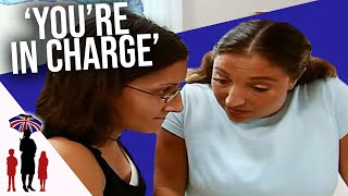 7Yr Old Jumps Into Pool To Escape Angry Mom | Supernanny