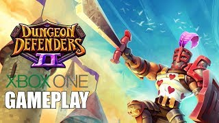 Dungeon Defenders II Xbox One Gameplay
