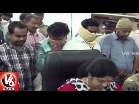 Police Arrested Currency Exchange Gang in Suryapet District | 29.80 Lakh New Currency Seized | V6
