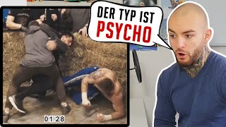 PSYCHO Tschetschene vs. Russischen TYSON !! TOP DOG FC - RINGLIFE reaction