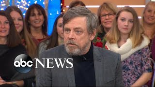 Mark Hamill reveals 'Star Wars: The Last Jedi' script left him 'stunned'