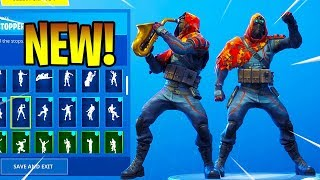 *NEW* LONGSHOT Skin Showcase With Dance Emotes! Fortnite Battle Royale