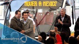 Línea 2 del Mexibús será gratis hasta marzo: Eruviel Ávila
