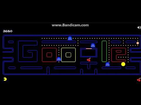 A Google Pacman Doodle That I Found