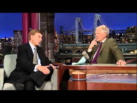 Marv Albert on David Letterman January 7, 2014 - Full Interview