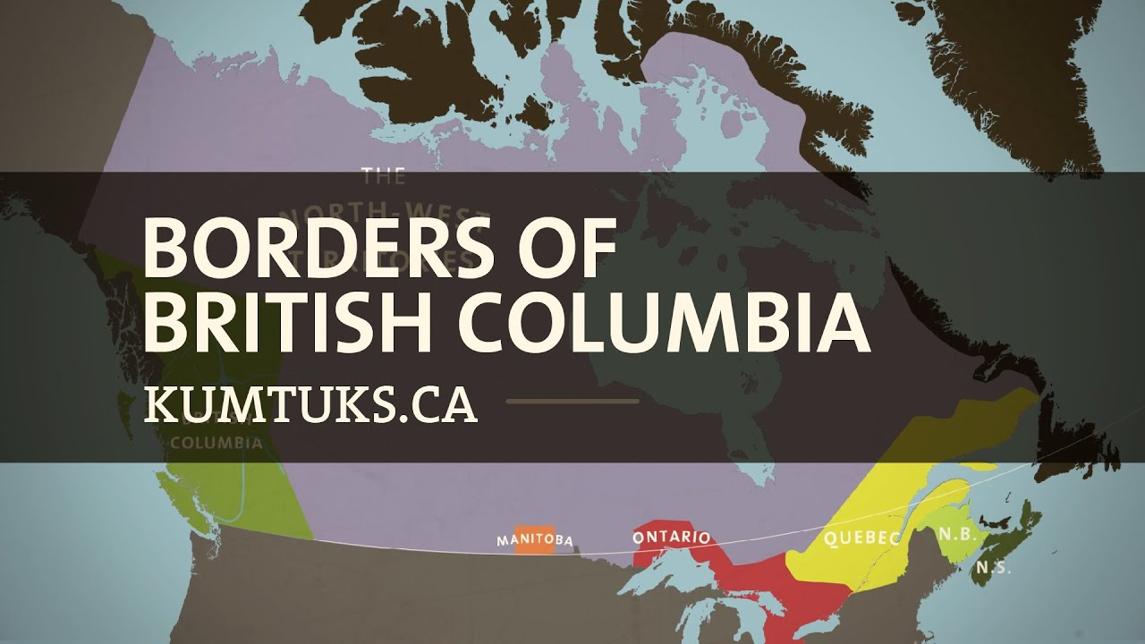 Borders of British Columbia