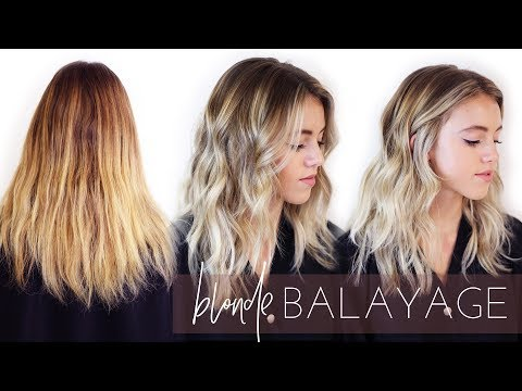 Ashy Blonde Balayage Hair Transformation - How To Foilayage (Easy Tutorial!)