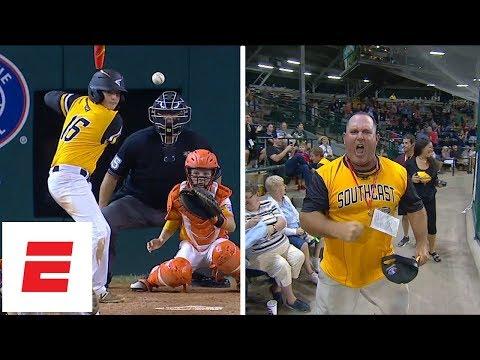 Georgia Little League dad goes crazy for son's game-tying HR | LLWS | ESPN