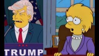 Lisa Simpson Predicts NEXT PRESIDENT 2019 2020