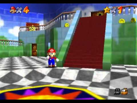 Super Mario 64 : Project 64 by [Aichi] Part 1