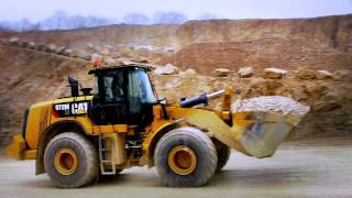 Cat® 966M XE & 972M XE Wheel Loaders with Advanced Powertrain