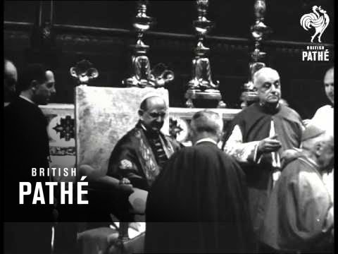 Investiture Of 27 Cardinals In Rome (1967)