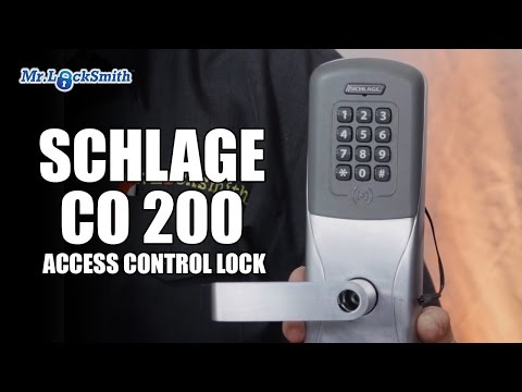 Schlage CO 200 Access Control Lock | Mr  Locksmith Video