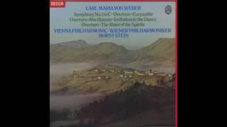 Silent Tone Record/ウェーバー:交響曲1番,「アブハッサン」序曲,「オイリアンテ」序曲,「幽霊の支配者」序曲/ホルスト・シュタイン指揮ウィーン・フィルハーモニー管弦楽団