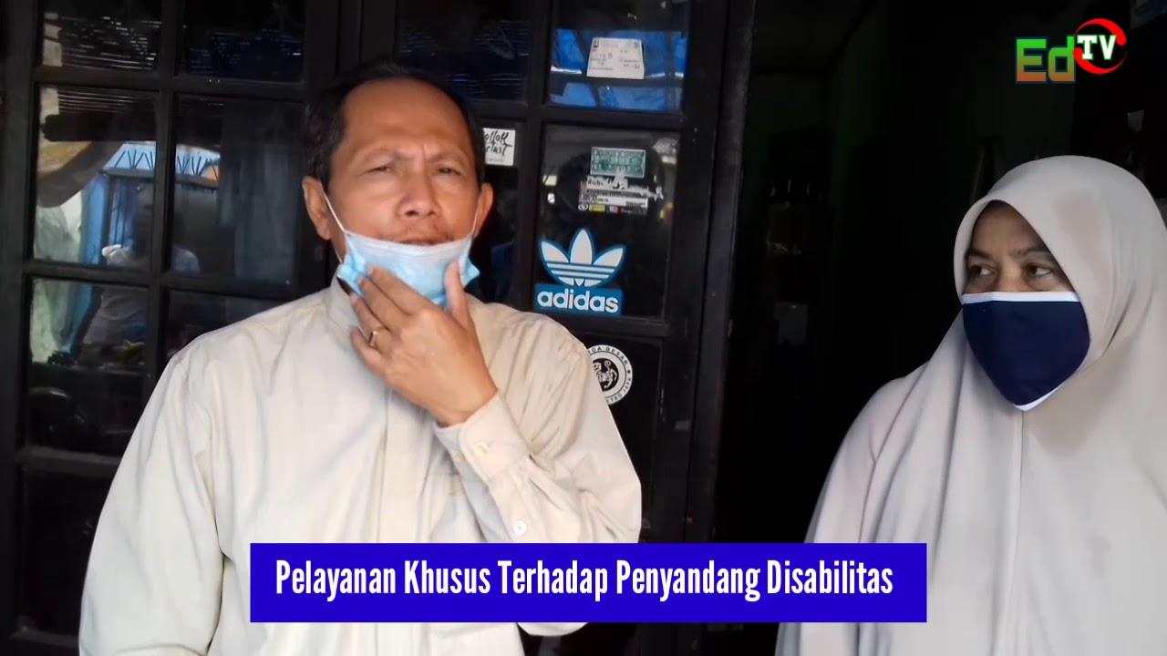 Dukcapil Jakarta Utara Serahkan E-KTP Kepada Penyandang Disabilitas