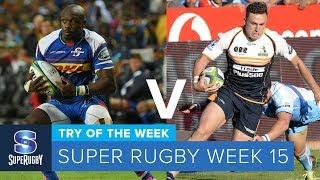 TRY OF THE WEEK: 2018 Super Rugby Week 15