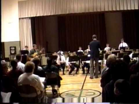 Iroquois Community School Band & Jazz Band Concert 1999