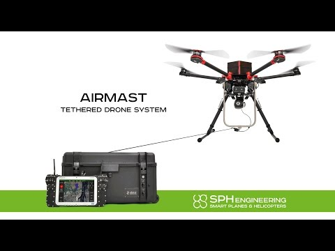AirMast Tethered Drone System
