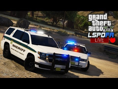 GTA 5 LSPDFR LIVE - Day 116 | Palm Beach County Sheriff | LSPDFR Realistic PBSO Sheriff Patrol 🚔