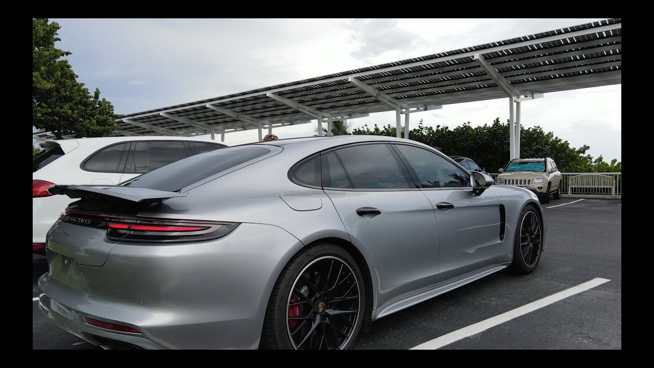 Porsche Cayenne and Panamera Turbo глазами посудомойщика.