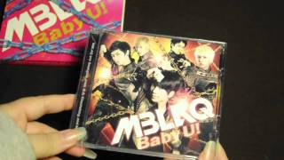 mblaq baby u first press limited type b album unboxing